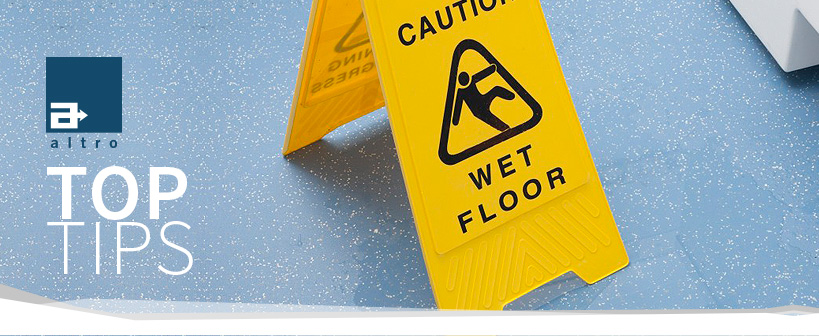 Top Tips For Cleaning Safety Floors