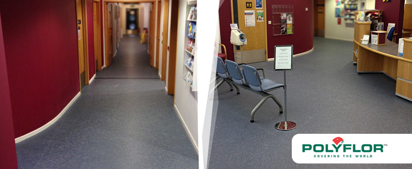 Safety Flooring in Coventry Medical Centre