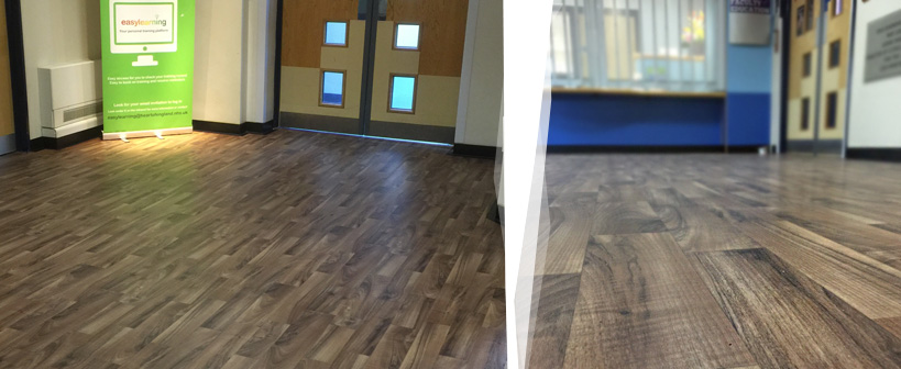 Itec Concept Wood Flooring At Heartlands Hospital