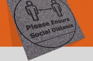 social distancing carpet tiles