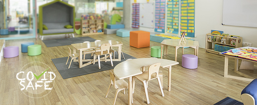 Hygienic Flooring for Nurseries, Schools and Further Education